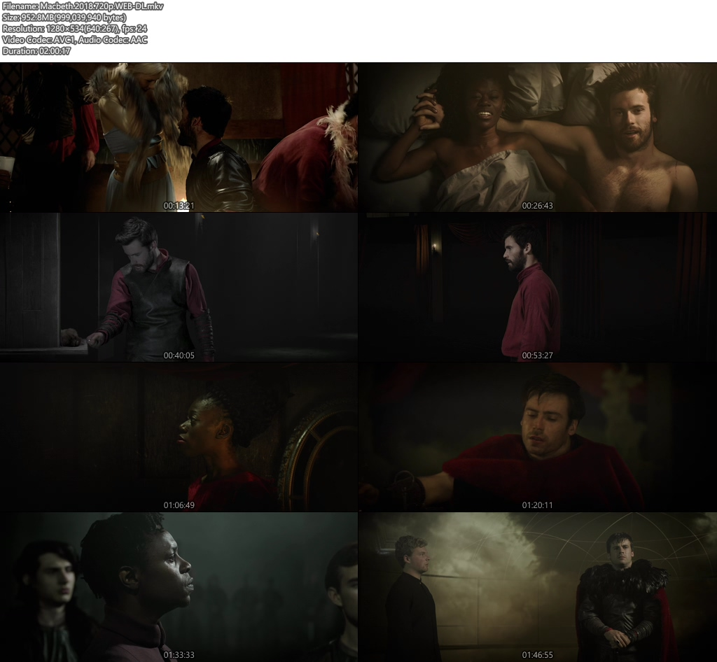 Macbeth 2018 720p WEB-DL | 480p 300MB| 100MB HEVC Screenshot