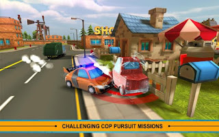 Blocky Cop Pursuit Terrorist v1.3 Apk (Mod Money)