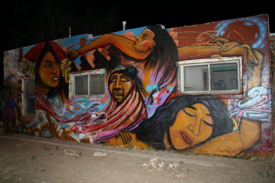 American Indian Mural Krew