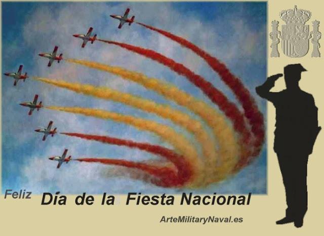 Cartel día de la Fiesta Nacional