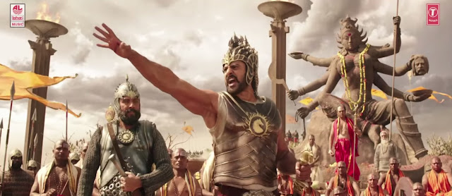 Baahubali Movie Posters Animation Effects