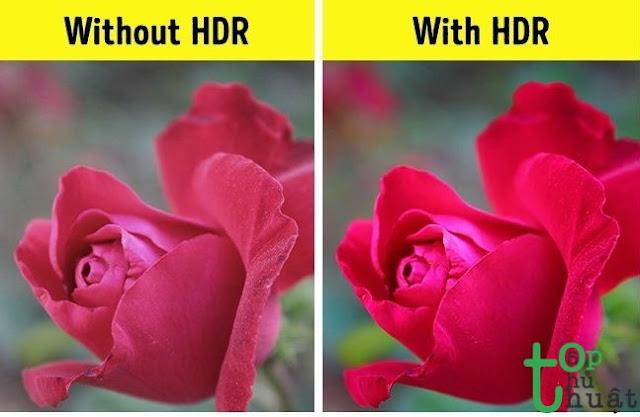 Chụp ảnh rực rỡ hơn với tính năng HDR