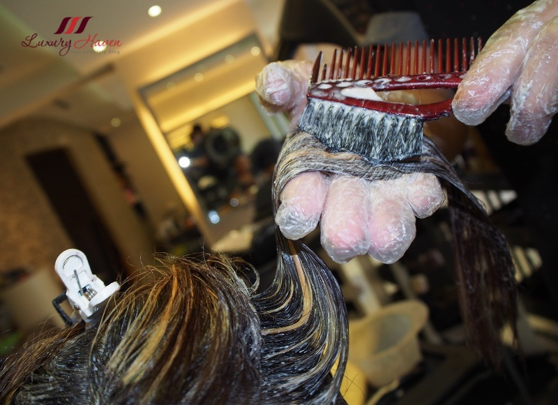 georgina salon festive promo wella hair colours