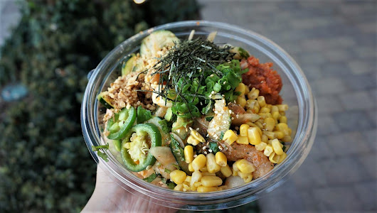 Build-Your-Own Poke Bowls with Fresh Options @ Poke Me - Irvine (Heritage Plaza)