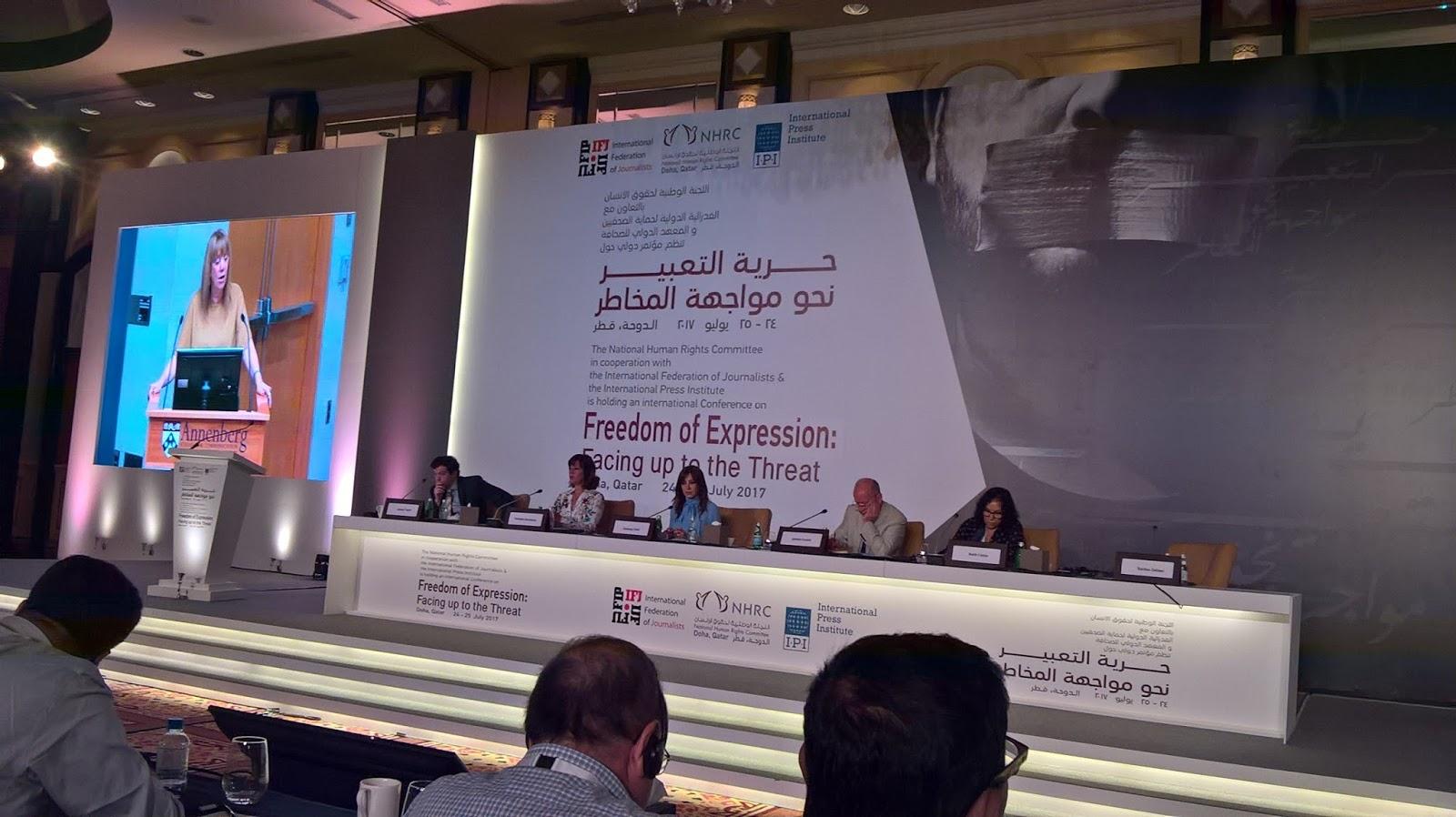 Freedom of expression in Qatar