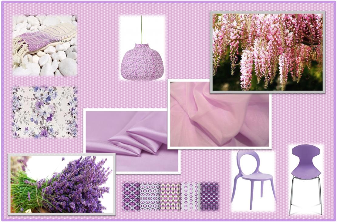 Colori Tenui: Glicine -Lavanda | Gena Design