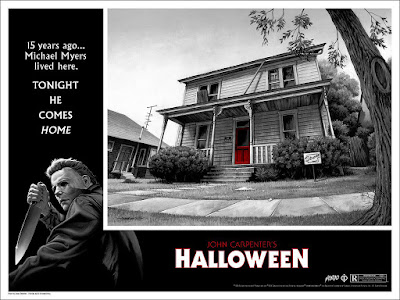 Jason Edmiston Halloween poster mondo