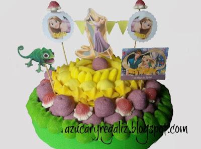 tarta Rapunzel azucaryregaliz