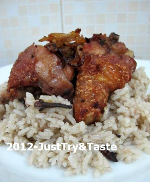 Just Try & Taste: Nasi Kebuli Ayam Goreng Versi Rice Cooker