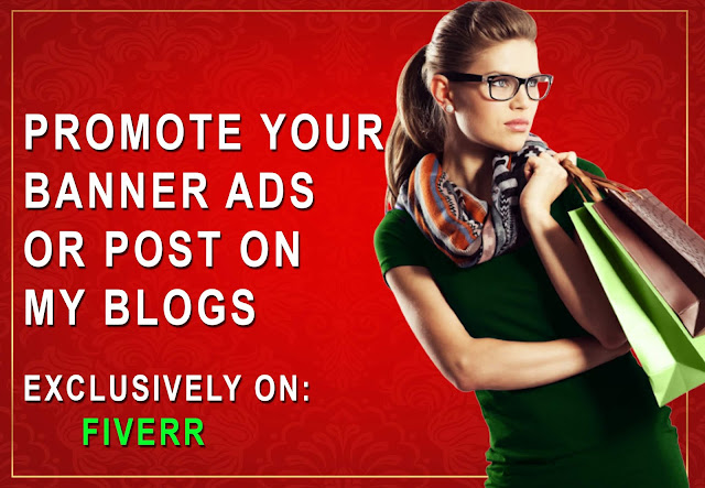 I Will promote Your Banner Ads Or Post On My Blog