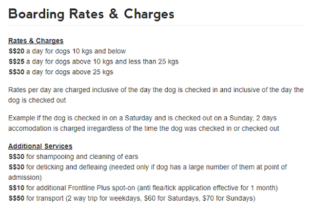 Action for Singapore Dog Boarding