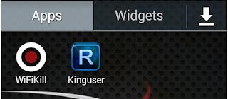 Wifikill و kinguser