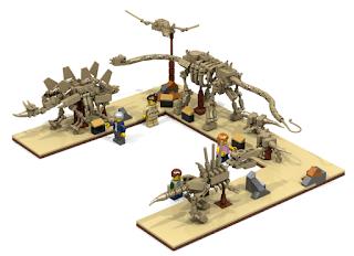 LEGO Ideas 2016 Fossil Museum