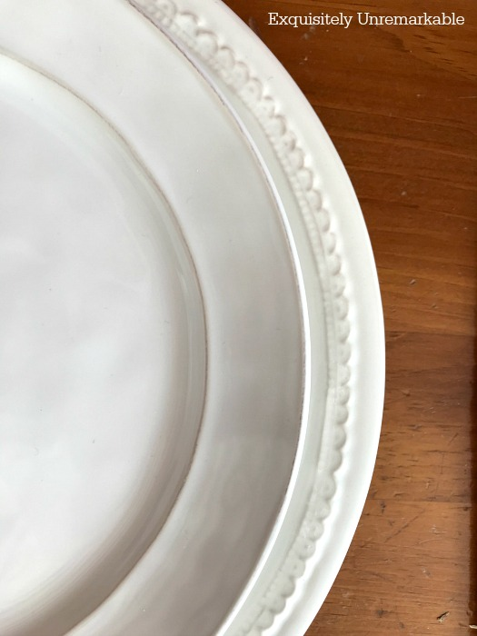 Mixing White Plates |Exquisitely Unremarkable