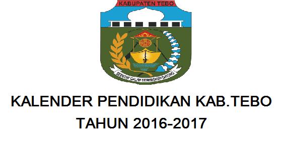 Kelender Pendidikan Tebo 2016/2017