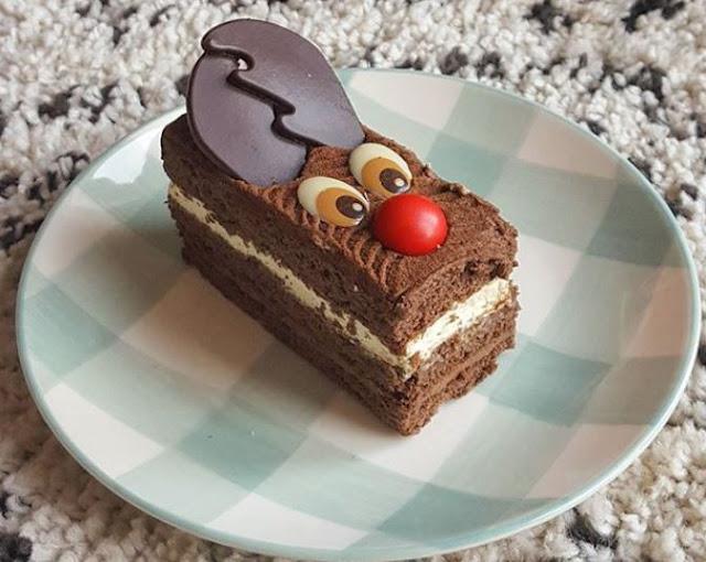 Patisserie Valerie Rudolph Cake