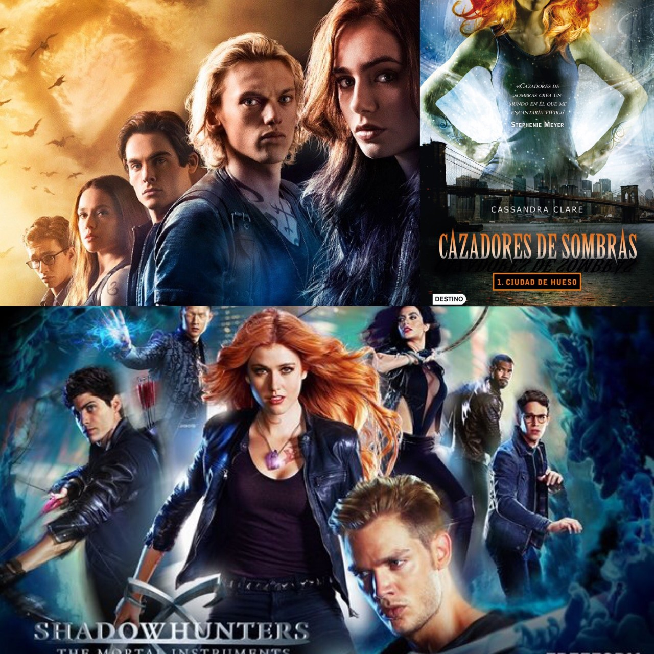 Shadowhunters Libros Reading Generation Cazadores De Sombras Película Vs