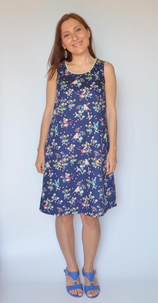 Как сшить платье свободное в талии фото 211