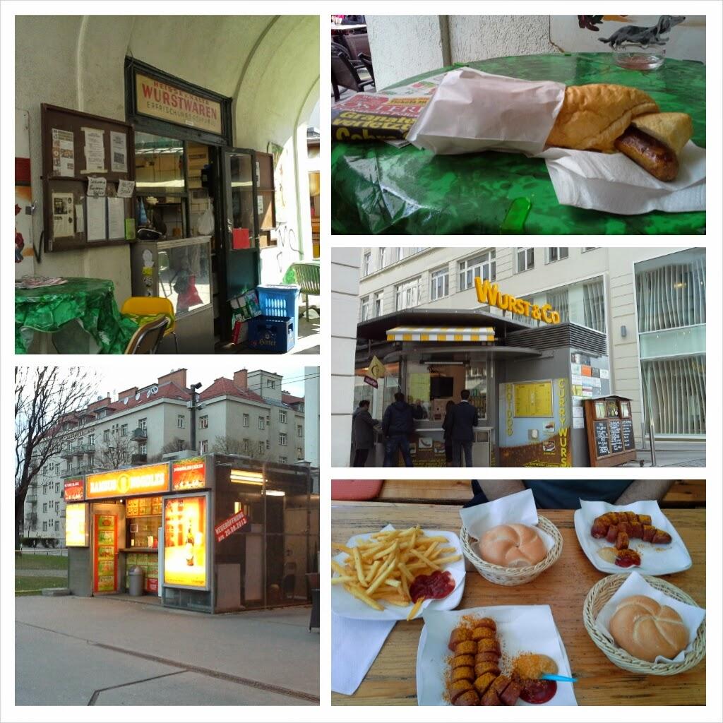 Mangiare per strada a Vienna