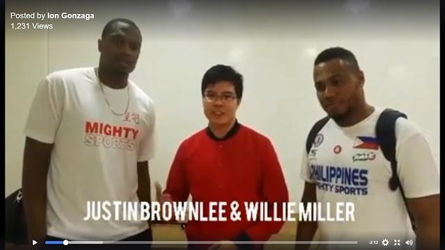 Conversation with Justin Brownlee & Willie Miller