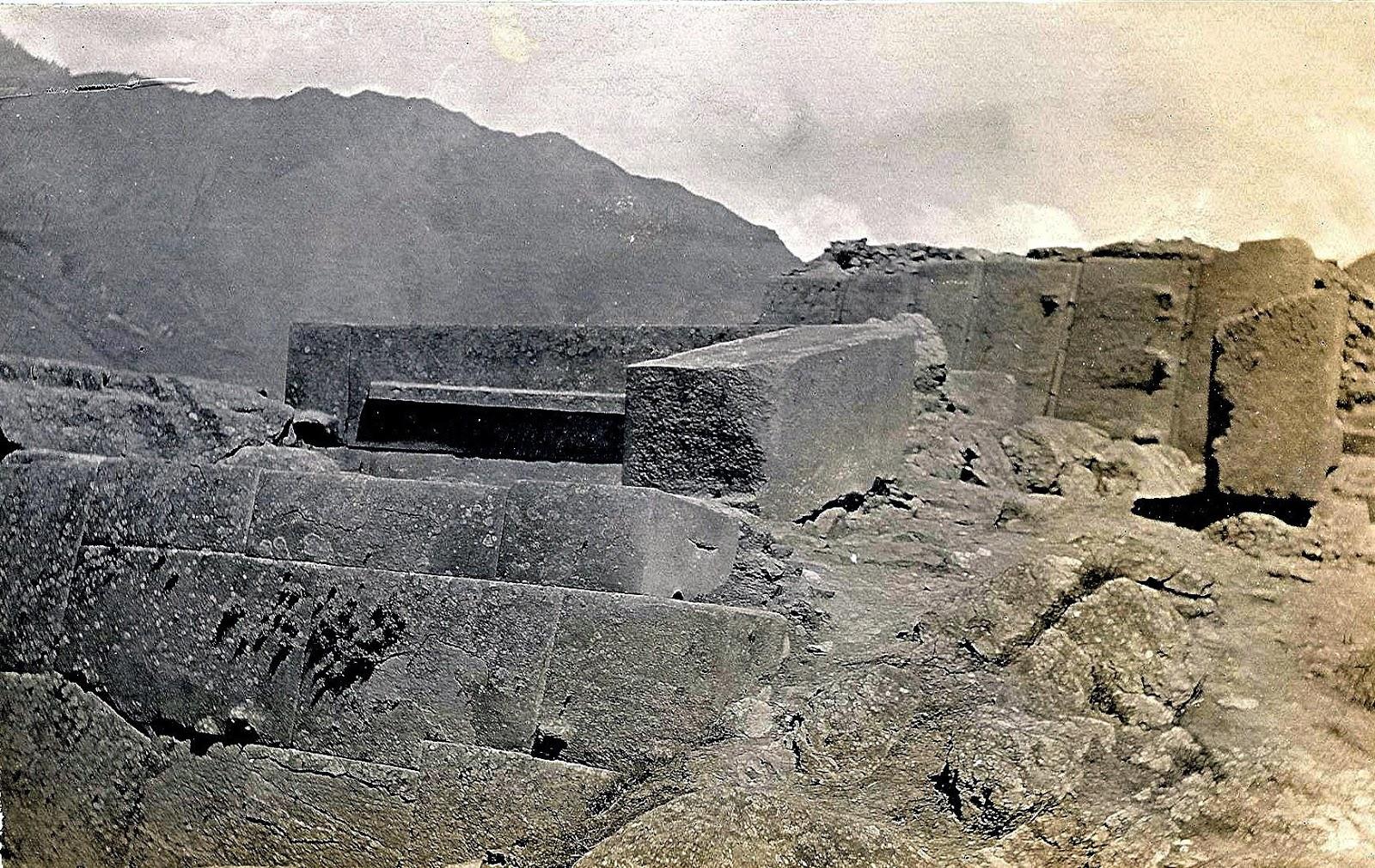 Fotos de antaño de Ollantaytambo