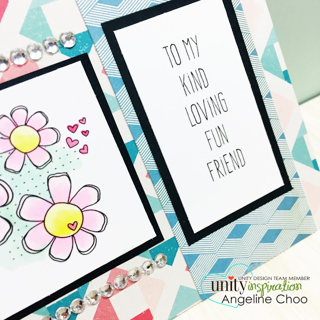 ScrappyScrappy: Loving Daisies Friend #scrappyscrappy #unitystampco #sotw #card #mothersday