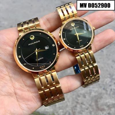 Đồng hồ đeo tay cặp đôi Movado MV Đ052900