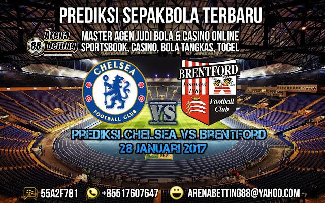 Prediksi Chelsea vs Brentford 28 Januari 2017