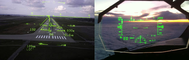 AR The Heads-Up Display (HUD) for pilots
