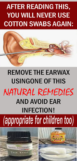 Get Rid Of The Wax In Your Ears With These Natural Remedies#naturalremedies