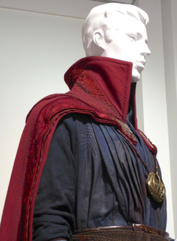 Doctor Strange cloak costume detail