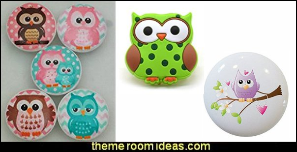 Owls Drawer Knobs