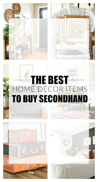The best home decor items to buy secondhand