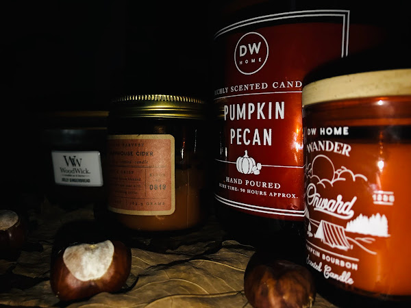 Affordable Autumn Candles from Homesense