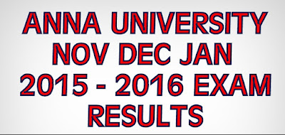 anna university results 2015 2016