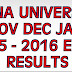 ANNA University ODD 1st/3rd/5th/7th Semester Results Declared
