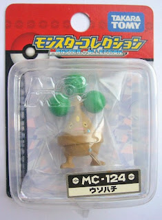 Bonsly figure Tomy Monster Collection MC series