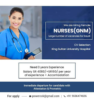 Nurses Vacancies