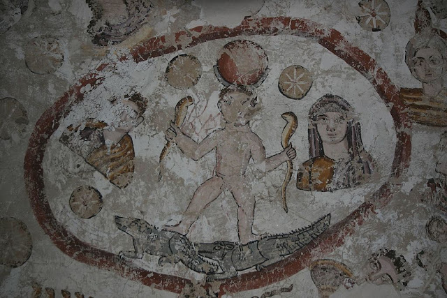 Paintings from the tomb of Petosiris at Muzawaka (IV)