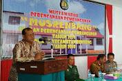 Ka.Bappelitbangda Buka Resmi Musrenbang Kecamatan Benteng
