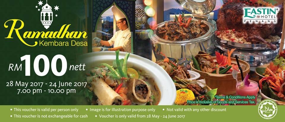 Eastin Hotel Penang buffet ramadhan