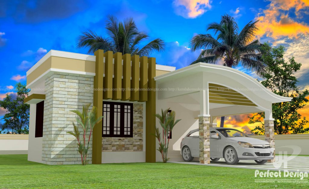 2 Bedroom Low Cost Kerala Home For 13 5lakhs In 1001sqft Free Plan Free Kerala Home Plans