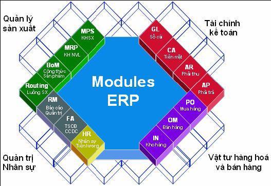 Phần mềm ERP được tối ưu với những bước sau đây