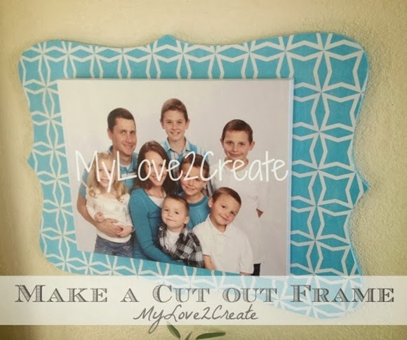 MyLove2Create, Large DIY Bracket (cut out) Frame