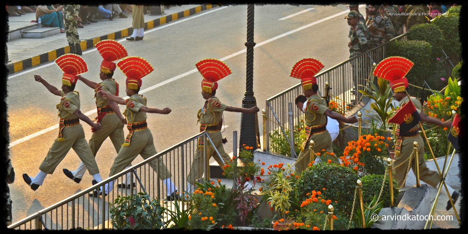 Retreat Ceremony, Wagah Border, Atari, Amritsar