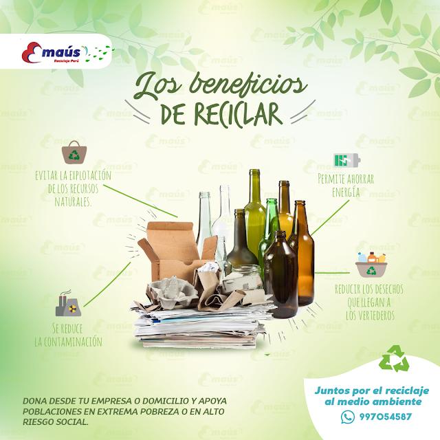 Los beneficios de Reciclar