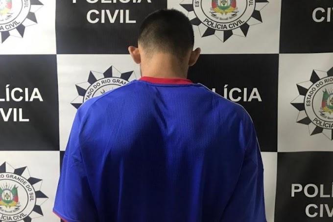 GRAVATAÍ | Polícia prende homem com objetos oriundos de roubos de cargas, arma e veículo roubado