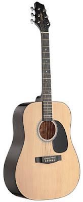 Đàn Guitar Acoustic Stagg SW201N (Dáng tròn)