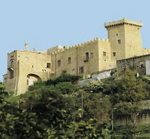 Castello di Carini is an example of  Norman military architecture