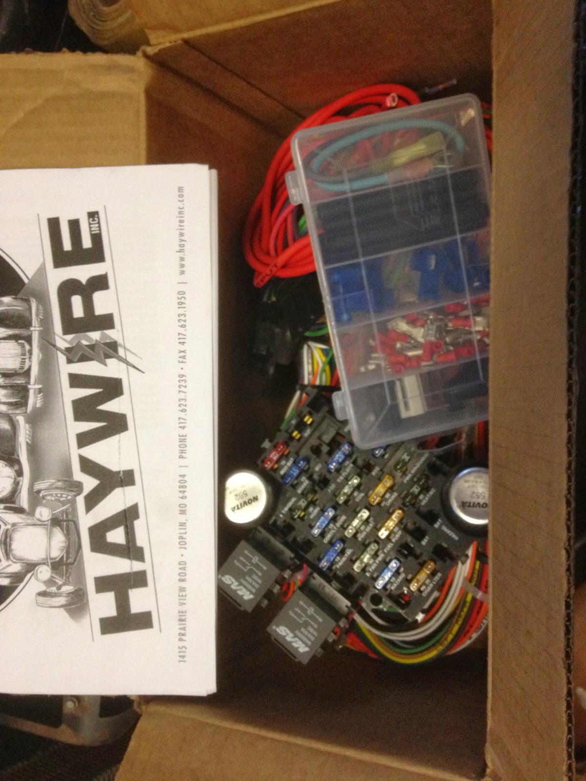 The kit from Haywire arrived here very quickly and is very complete. The  kit is pretty self explanatory, but if you run into a question, give them a  call.